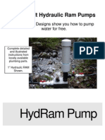 Home Built Hydraulic Ram Pumps