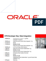 OTN Developer Day Data Integration Slides