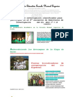 PROYECTOS DE INVESTIGACIÓN. ENSO 2012