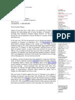 CPJ Letter to US Pres Obama - Tanzania - June 25 2013