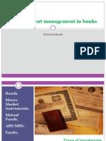 3.8.12Tarini Vaidya- Investment Mgt in Banks