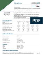 ANDREW - HWXX-6516DS1-VTM - DualPol Quad Teletilt 1710–2690 MHz, 65° RET Compatible