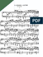Rachmaninov Etude c minor for piano solo