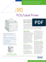 Epson TM-L90 POS Label Printer Brochure