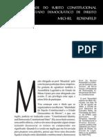 Identidade Do Sujeito Constitucional Michel