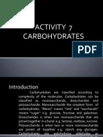 Lab Report for monossacharide