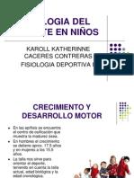 FISIOLOGIa del ni+¦o y deporte VIII