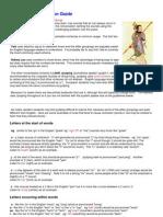 Jyutping Pronunciation Guide