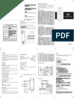 F007 User Manual