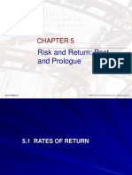 Chap5 Risk n Return