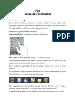 iPad - Guide de l'utilisateur