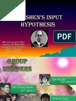 krashens input hypotheses