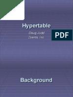 Hypertable