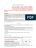 Dielectrics Introduction