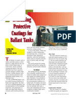 Evaluating Protective Coatings for Ballast Tanks