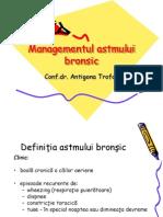 Managementul Astmului Bronsic