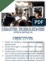 Emergency and Disaster Preparedness in Nursing