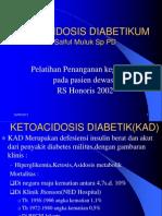 Ketoacidosis Diabetik(Kad)