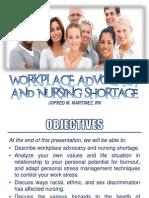 Workplace Advocacy Nursing