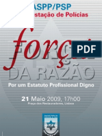 CARTAZ - FORCA DA RAZAO