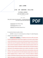 State of RI - Bill S 0798** IMPORTANT**