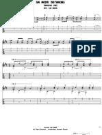 Sin Medir Distancias-diomedes Diaz-guitar Solo-Arr. Leo Baeza