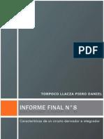 Informe Final de Laboratorio de Circuitos Electricos I N°8