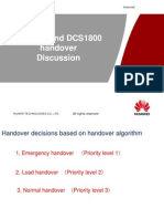 GSM&DCS Handover Algorithm