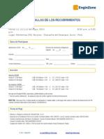 Ficha de Inscripción -  ASTM - FALLAS DE LOS RECUBRIMIENTOS