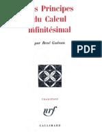 Guénon René - Les principes du calcul infinitésimal.pdf