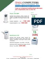 Promotie Xerox