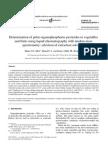 Determination of Polar Organophosphorus Pesticides