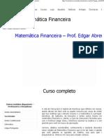 Módulo_ Matemática Financeira _ A casa do Concurseiro