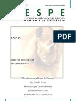 Ensayo Rinoceronte