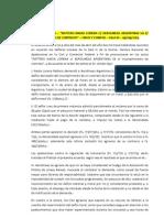 Jurisprudencia Danos Resp Contractual Demora Vuelo Aerolineas Arg