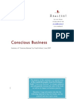 Conscious Business Summary - Jeroen Maes