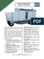 TLD ASU-600 180-300 Jet Engine Air Starter