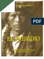 Libro El Presidio