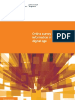 Survey on Scientific Information Digital Age En