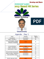 Competency Series - Values Workshop- Chandramowly