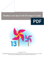 Database.com Apex Code Developer's Guide | WiMarBueno