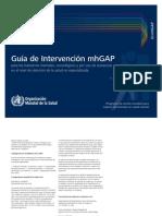 Guia de Intervencion MhGAP -OMS