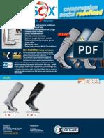 Vitalsox Supersox, patented graduated compression socks