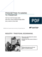 From Betting to Gaming to Tradefair