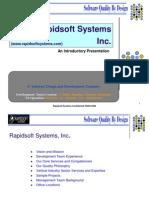 Rapidsoft Presentation