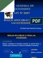 Ley-general-De-sociedades - Reglas Aplicables a Todas Las Sociedades