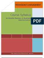 SMBA Syllabus Final
