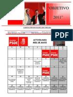 Agenda Mayo 09