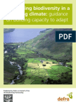 Conserving Biodiversity in a Changing Climate