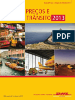 Dhl Express Rate Transit Guide Pt Pt 2013